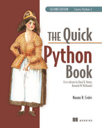 Cover of The Quick Python Book