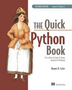 Quick Python Book
