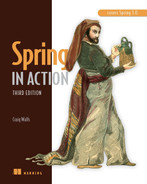 Cover of Spring in Action, Third Edition