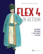Cover of Flex 4 in Action: Revised Edition of Flex 3 in Action