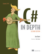 Cover of C# in Depth, Second Edition