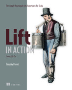Cover of Lift in Action: The Simply Functional Web Framework for Scala