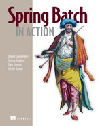 Cover of Spring Batch in Action