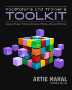 Cover of Facilitator's and Trainer's Toolkit