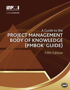 Cover of A Guide to the Project Management Body of Knowledge (PMBOK® Guide), Fifth Edition