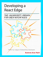 Cover of Developing a React Edge: The JavaScript Library for User Interfaces