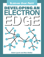 Cover of Developing an Electron Edge