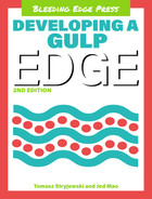 Cover of Developing a gulp edge, Second Edition