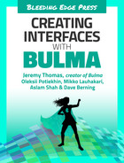 Cover of Creating Interfaces with Bulma