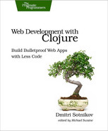 Cover of Web Development with Clojure