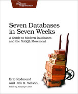 Cover of Seven Databases in Seven Weeks