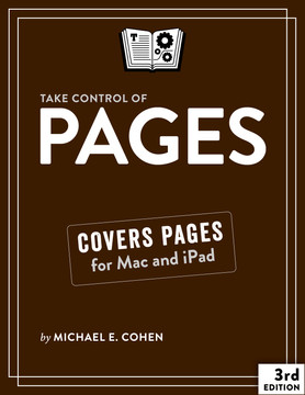 Take Control of Pages, 2nd Edition