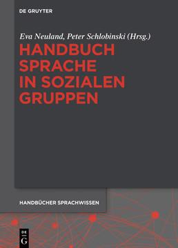 Handbuch Sprache in sozialen Gruppen