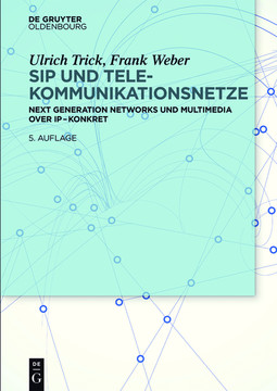 SIP und Telekommunikationsnetze, 5th Edition
