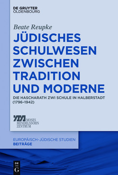 Jüdisches Schulwesen zwischen Tradition und Moderne