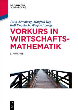 Vorkurs in Wirtschaftsmathematik, 5th Edition
