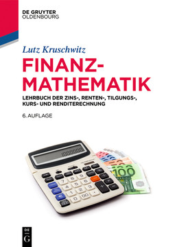 Finanzmathematik, 6th Edition
