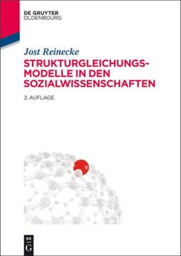 Strukturgleichungsmodelle in den Sozialwissenschaften, 2nd Edition