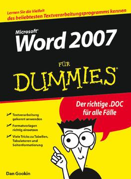 Microsoft® Word 2007 für Dummies®