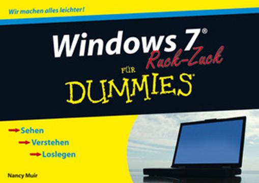 Windows 7 für Dummies Ruck-Zuck