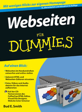 Webseiten für Dummies, 6., überarbeitete und aktualisierte Auflage