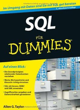 SQL für Dummies, 5., aktualisierte Auflage
