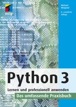Python 3 -- Das umfassende Praxisbuch