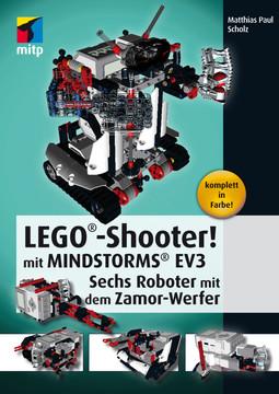 LEGO Shooter mit MINDSTORMS EV3 - Sechs Roboter mit dem Zamor-Werfer