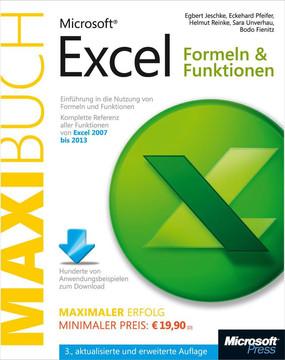 Microsoft Excel: Formeln & Funktionen - Das Maxibuch, 3., aktualisierte und erweiterte Auflage