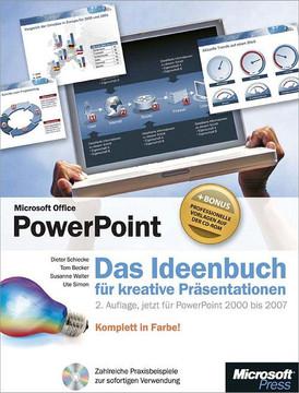 Microsoft Office PowerPoint - Das Ideenbuch für kreative Präsentationen, 2. Auflage, jetzt für PowerPoint 2000 bis 2007