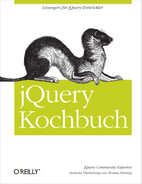 Cover image for JQuery Kochbuch