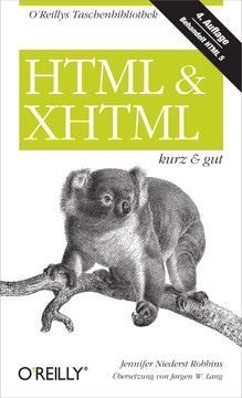HTML & XHTML kurz & gut, 4th Edition