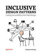Cover of Inclusive Design Patterns