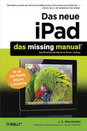 Cover image for Das neue iPad: Das Missing Manual, 4th Edition