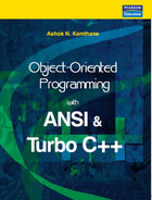 Cover of Object-Oriented Programming with ANSI and Turbo C++