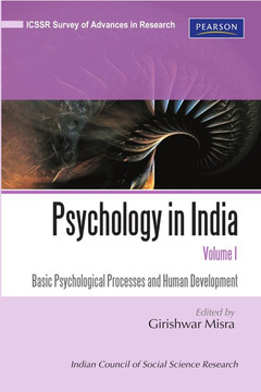 Psychology in India, Volume 1
