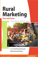 Cover of Rural Marketing: Text and Cases, 2nd Edition