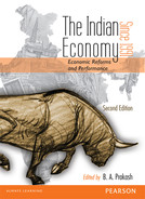 Cover of The Indian Economy Since 1991, 2nd Edition