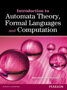 Cover of Introduction to Automata Theory, Formal Languages and Computation