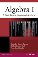 Cover of Algebra I: A Basic Course in Abstract Algebra