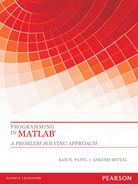 Cover of Programming in MATLAB ®