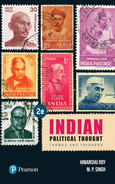 Cover of Indian Political Thought, 2nd Edition