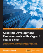 Cover of Creating Development Environments with Vagrant - Second Edition