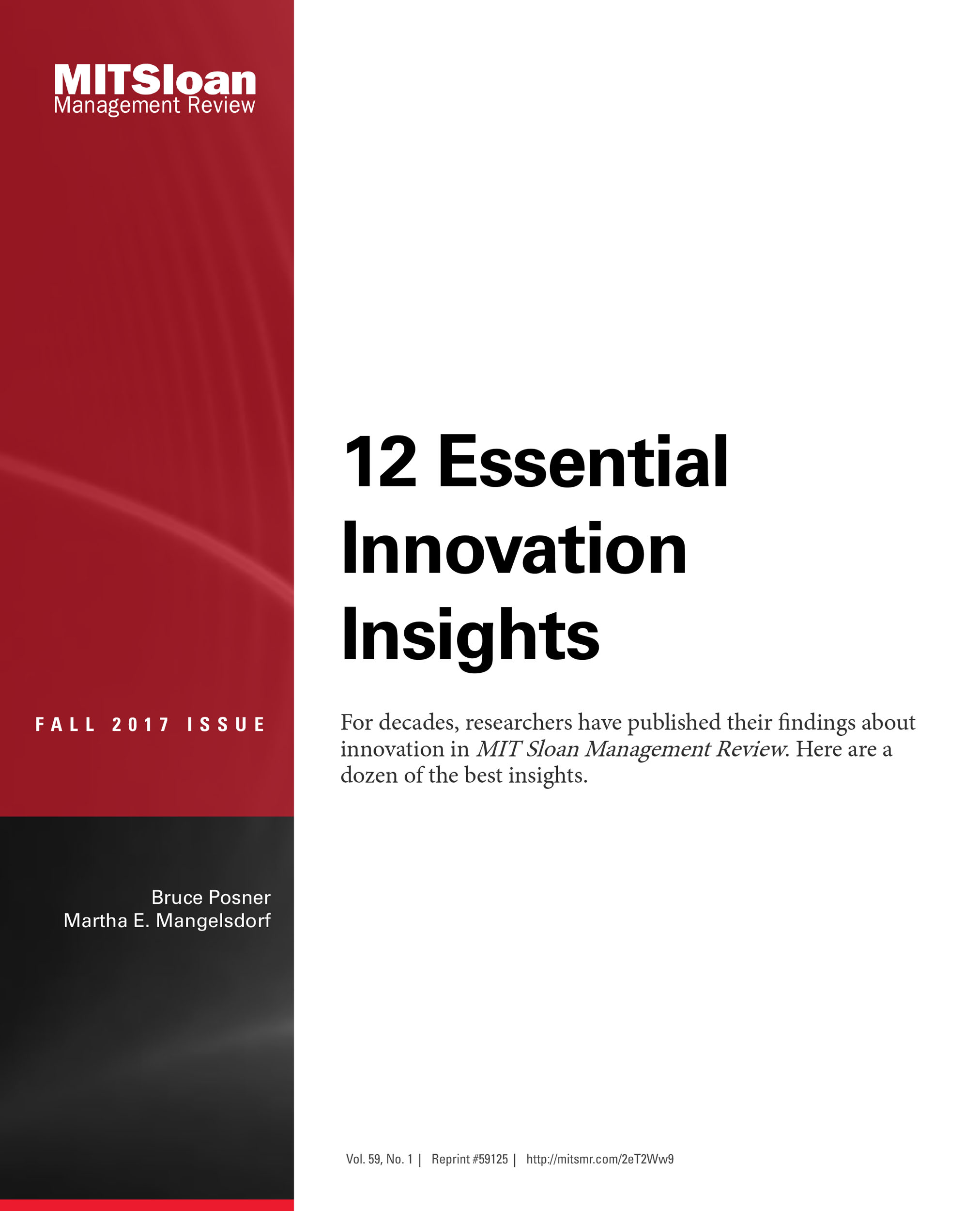 Cover - 12 Essential Innovation Insights [Book]