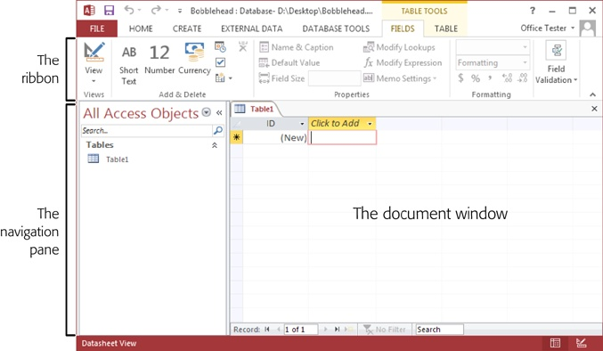 microsoft access client database template.html