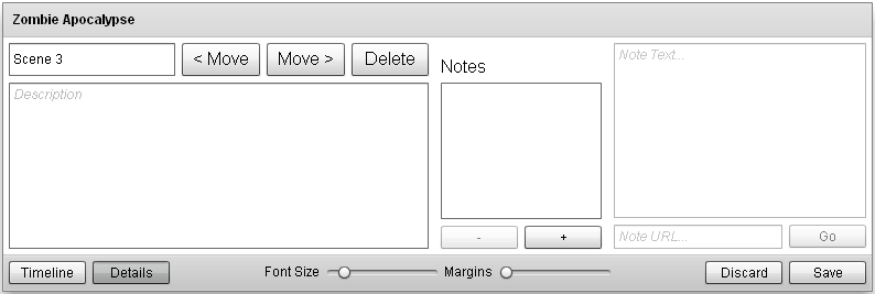 UI—The Editor Controls showing the Details Component