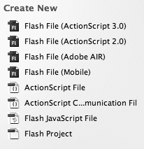 Flash opening screen with Adobe AIR support