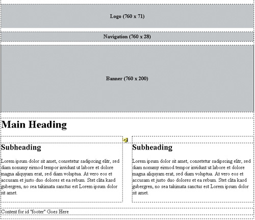 Crafting Page Layouts
