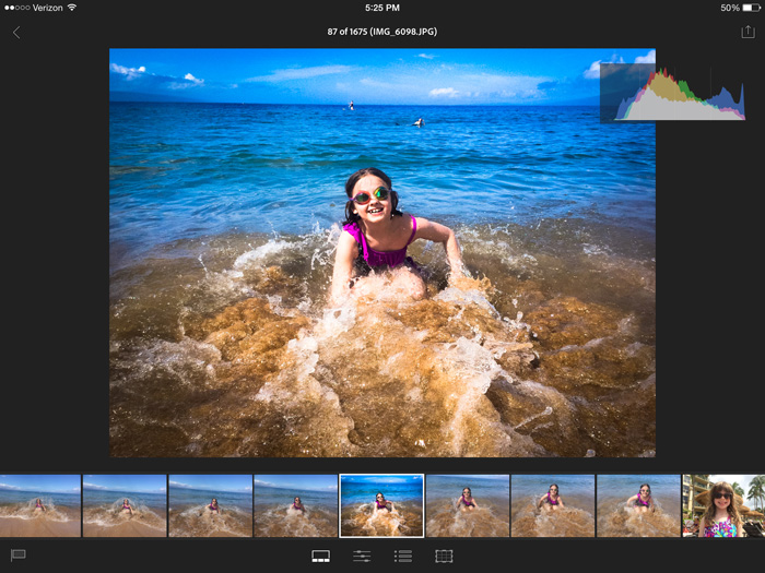 Apply Previous Edits - Adobe Lightroom mobile: Your