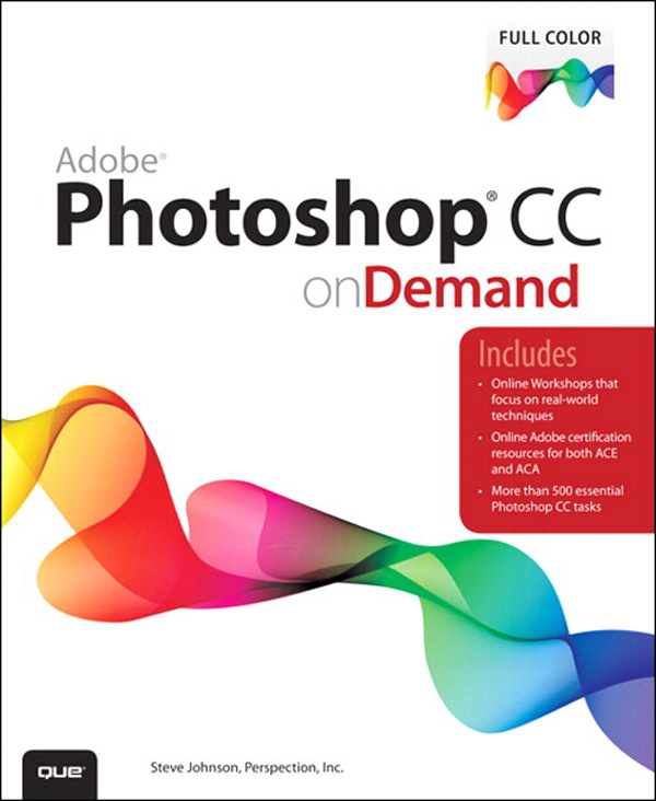 Cover Page - Adobe® Photoshop® CC on Demand [Book]